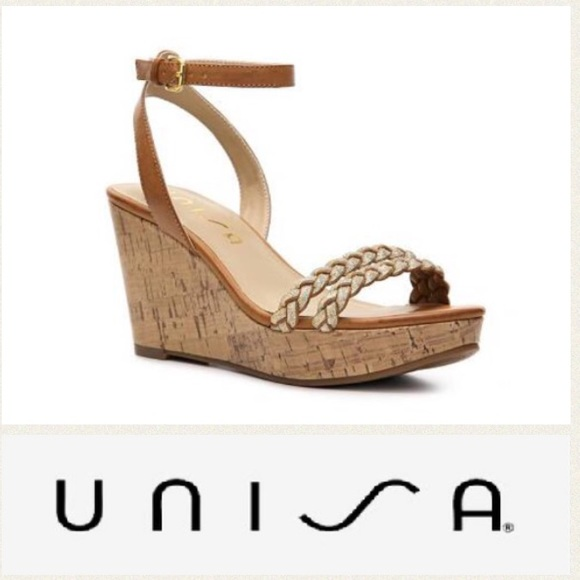 49b20db999d5 Unisa  Kapi  cork wedge sandals 9. M 5acc233b05f430fbc0d68509